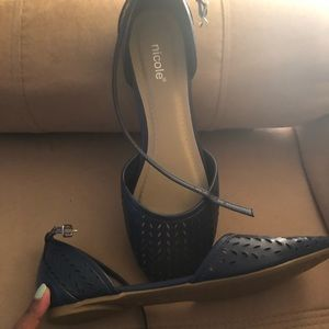Nicole ankle strap shoes.